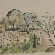 4_Lau_Nailing_Liu_Nailing_aquarelle_La_Roque-Alric_Vaucluse