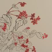 Lau_Nailing_Liu_Nailing_peinture_chinoise_begonia_1