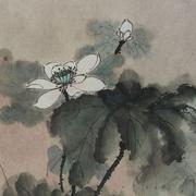 Lau_Nailing_Liu_Nailing_peinture_chinoise_lotus_1