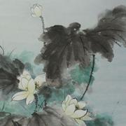 Lau_Nailing_Liu_Nailing_peinture_chinoise_lotus_2