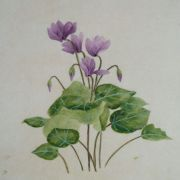 Lau_Nailing_cours-peinture_chinoise_cyclamen_1_travaux_élèves