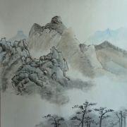 Lau_Nailing_cours-peinture_chinoise_paysage_4_travaux_élèves