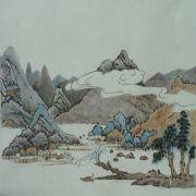 Lau_Nailing_cours-peinture_chinoise_paysage_5_travaux_élèves