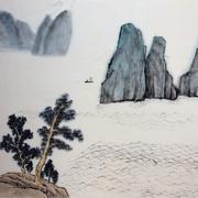 Lau_Nailing_cours-peinture_chinoise_paysage_8_travaux_élèves